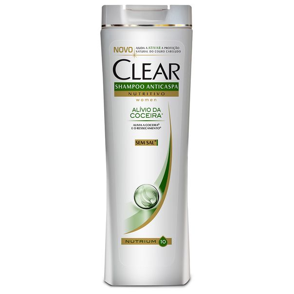 7891150001282_Shampoo-anti-caspa-Clear-alivio-da-coceira---400ml