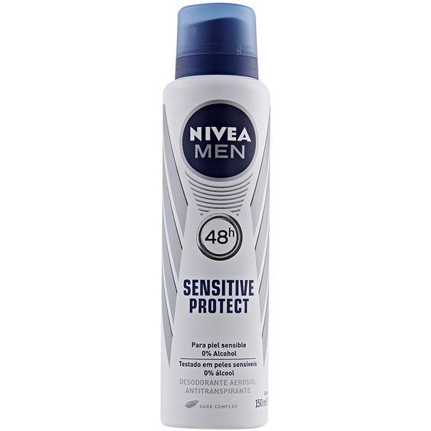 7791969029807_Desodorante-Nivea-aerosol-Sensitive-For-Men---150ml