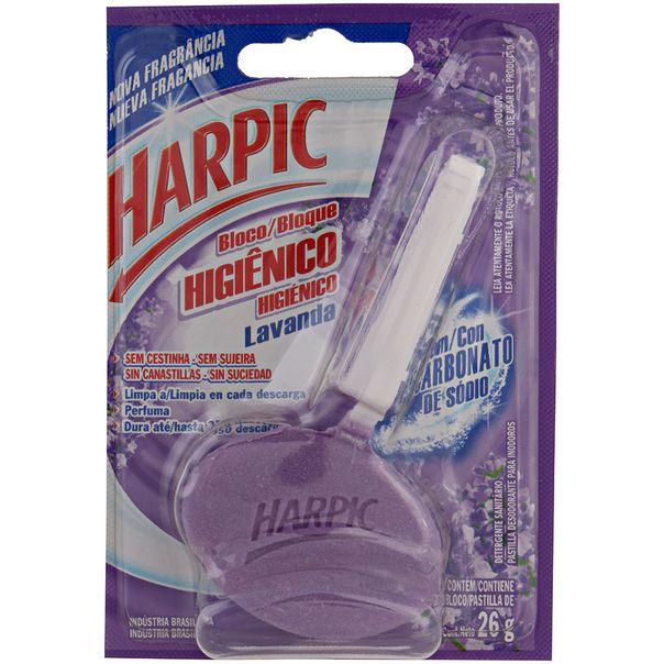 7891035524455_Desodorizador-sanitario-bloco-lavanda-Harpic---26g