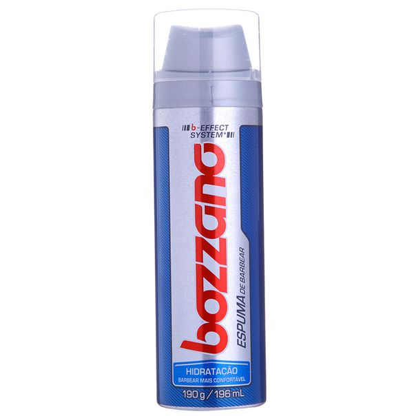 7891350000092_Espuma-para-barbear-hidratacao-Bozzano---190g