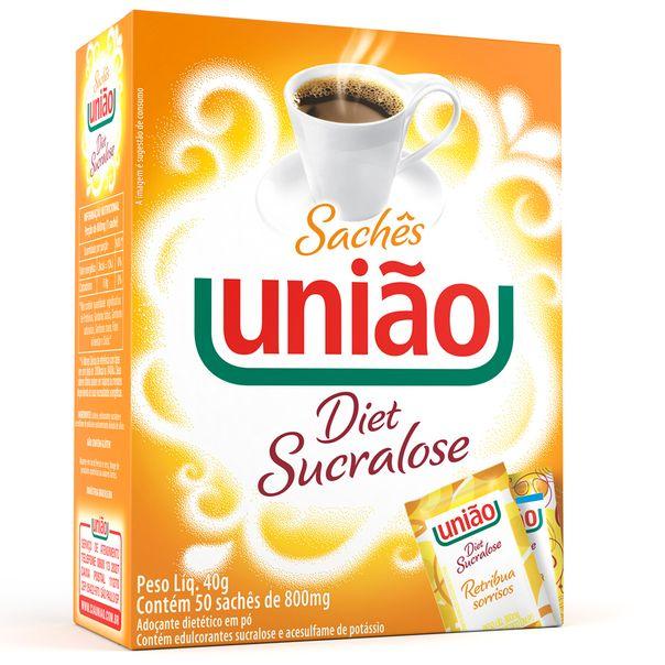 7891910020058_Acucar-sucralose-diet-Uniao-saquinhos---40g