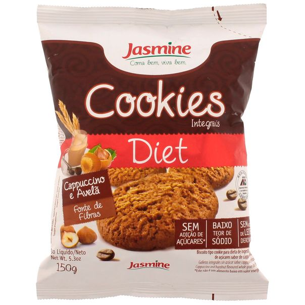 7896283001734_Biscoito-cookie-integral-diet-cappucino-avela-Jasmine---150g.jpg