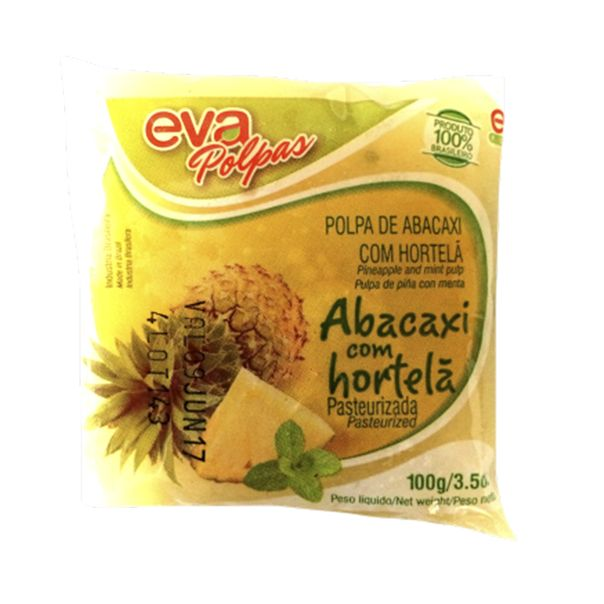 7898090780949_Polpa-fruta-abacaxi-com-hortela-Eva---100g