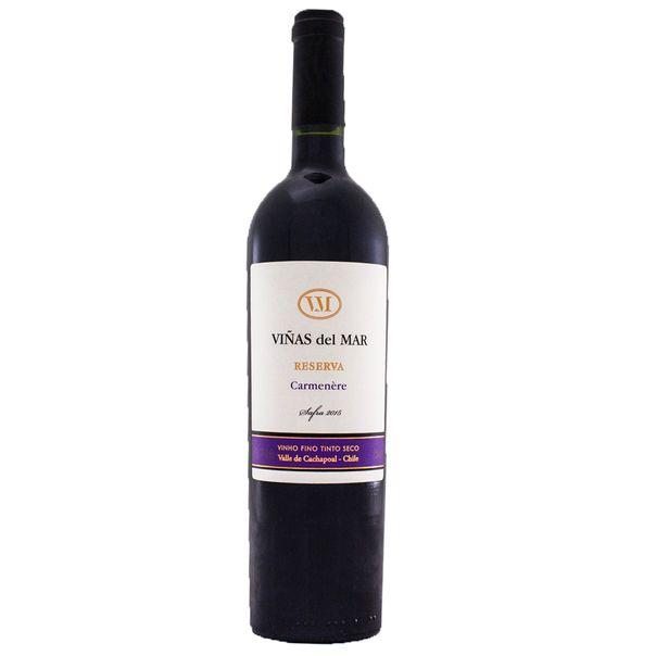 7809503500535_Vinho-Tinto-Chileno-Vinas-Del-Mar-Reserva-Carmener-750ml