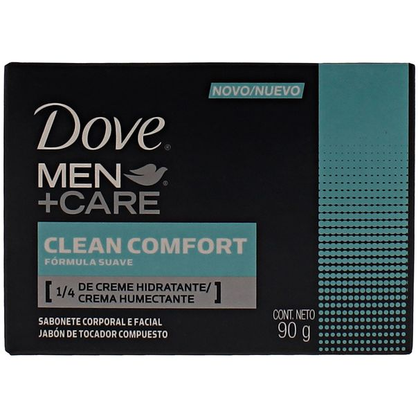 7891150006058_Sabonete-Hidratante-Dove-Clean-Confort-Men-Care-90g