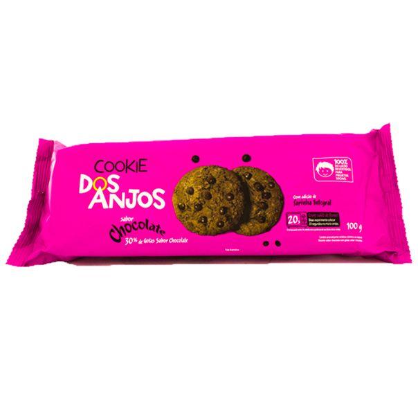 7898960450040_Biscoito-Cookie-Chocolate-com-Cotas-de-Chocolate-Dos-Anjos-100g