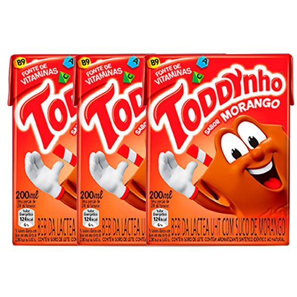 7894321226323_Bebida-lactea-morango-Toddynho-pack-com-3-unidades---200ml-cada