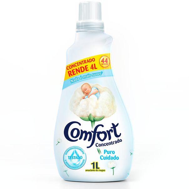 Amaciante-Concentrado-para-Roupas-Comfort-Puro-Cuidado-1-Litro