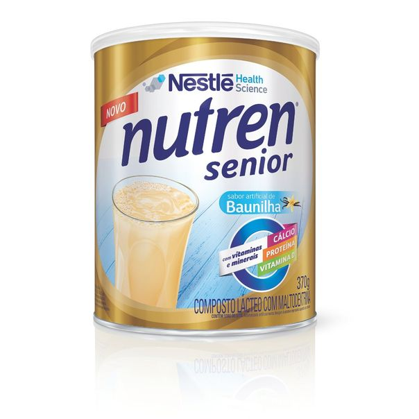 Suplemento-Nutricional-Baunilha-Senior-Nutren-Nestle-370g