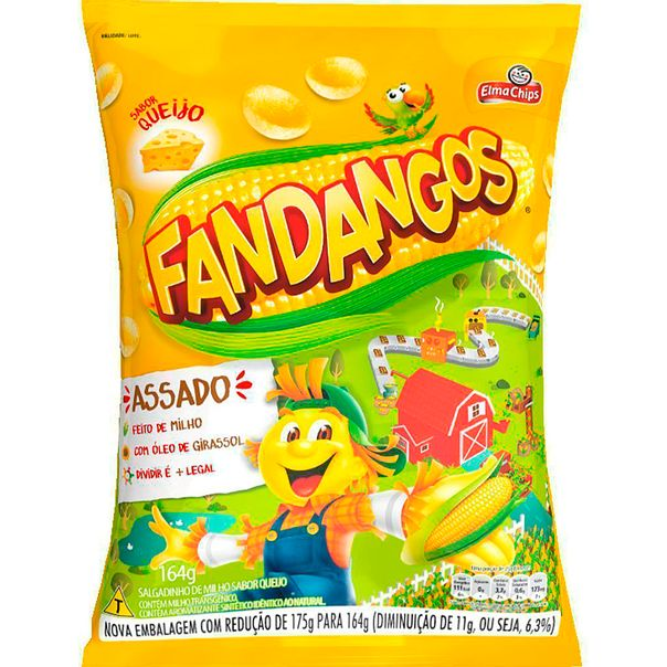 Salgadinho-Fandangos-Queijo-Elma-Chips-164g
