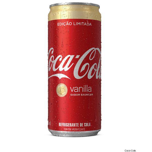 Refrigerante-Coca-Cola-Baunilha-Lata-310ml-Edicao-Limitada