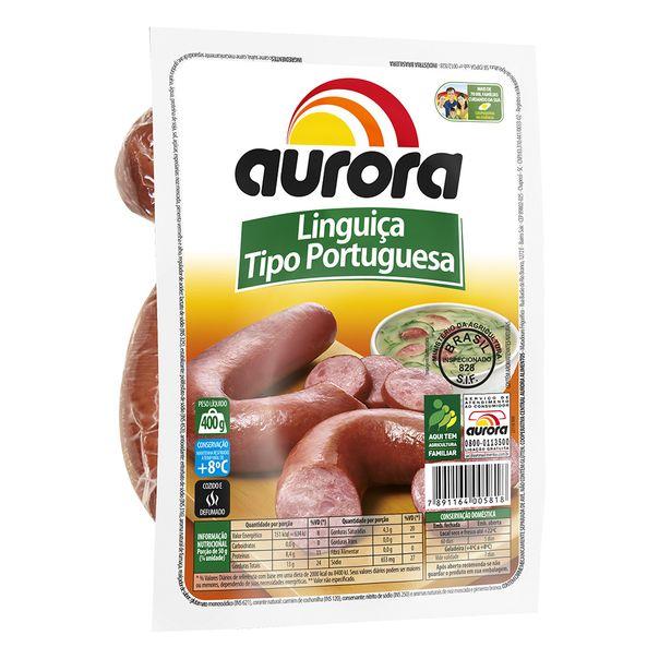 Linguica-Portuguesa-Aurora-400g