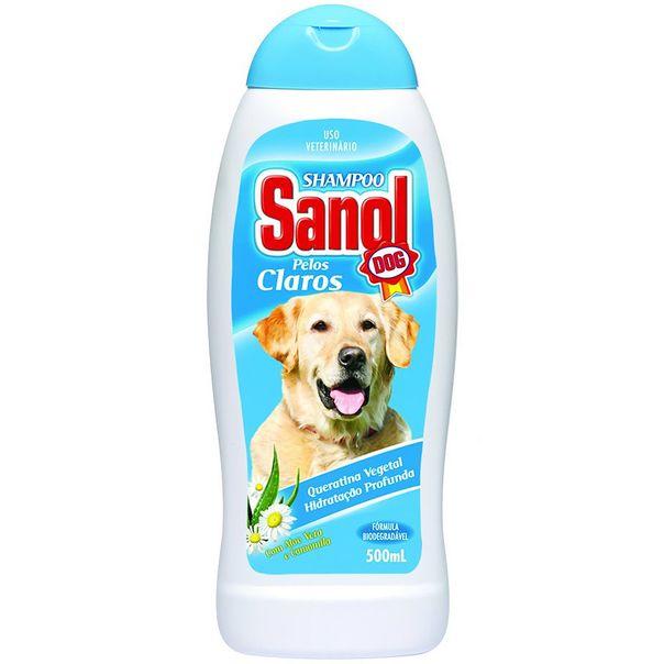 Shampoo-para-Caes-Pelos-Claros-Sanol-500ml