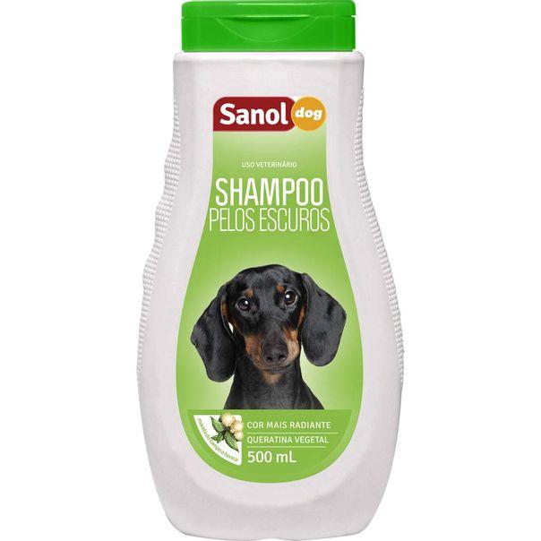 Shampoo-para-Caes-Pelos-Escuros-Sanol-500ml