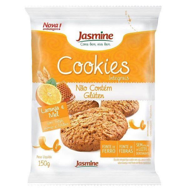 Biscoito-Cookie-Sem-Gluten-Laranja-e-Mel-Jasmine-150g