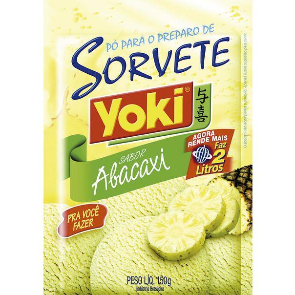 Po-para-Sorvete-Abacaxi-Yoki-150g