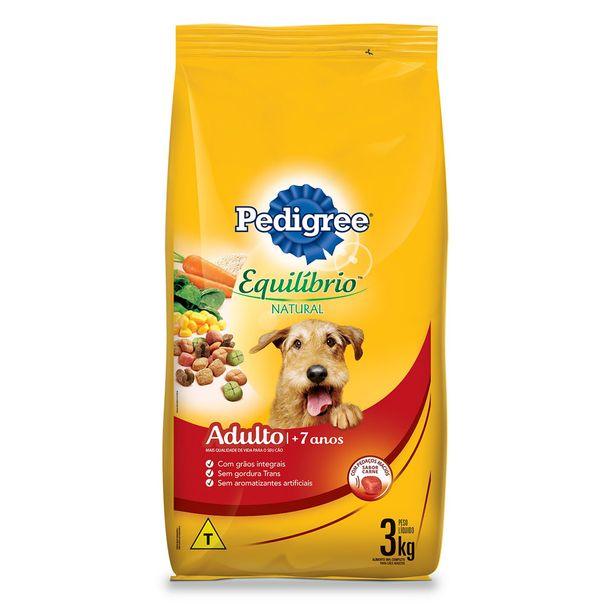 Alimento-para-Caes-Pedigree-Equilibrio-Natural---7-Anos-3kg