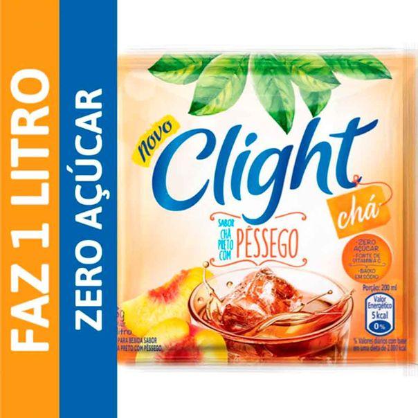 Refresco-em-Po-Clight-Cha-Pessego-8g