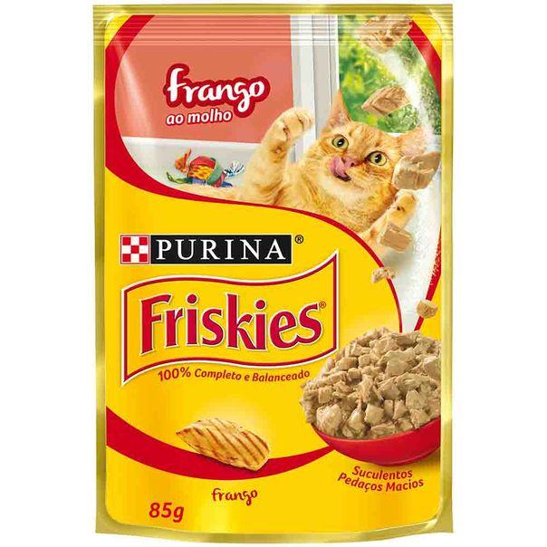 Alimento-para-Gatos-Friskies-Frango-ao-molho--Sache-85g