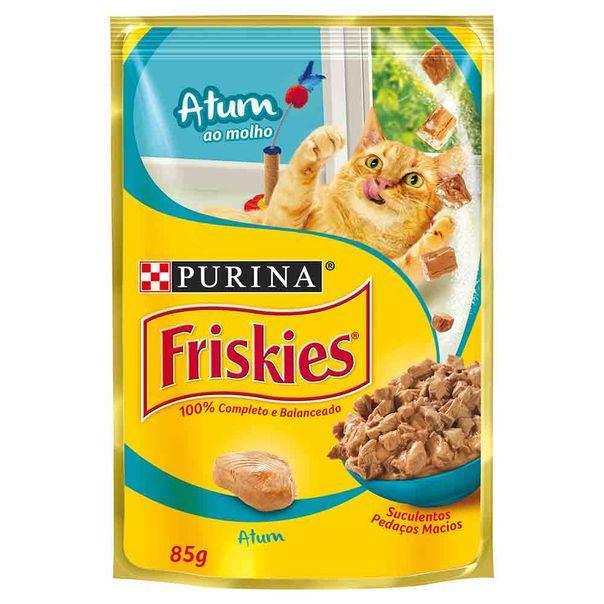 Alimento-para-Gatos-Friskies-Atum-ao-Molho-Sache-85g