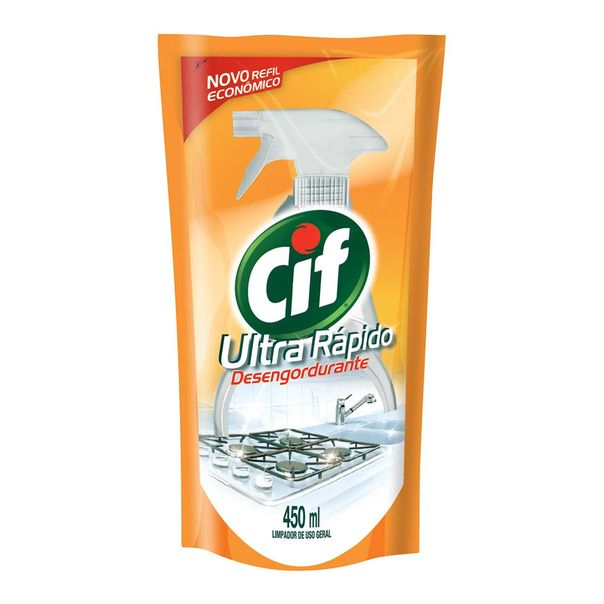 Limpador-de-Cozinha-Desengordurante-Cif-Ultra-Rapido-Sache-450ml