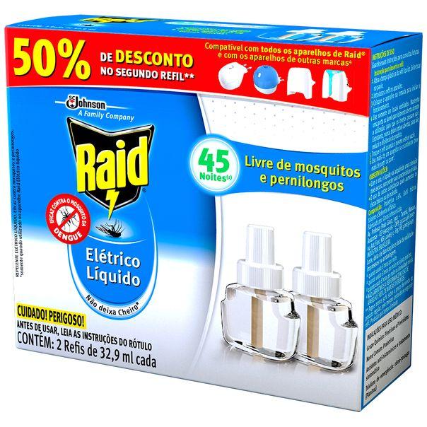 Inseticida-Eletrico-Raid-Refil-45-Noites-32.9ml-Gratis-50--desconto