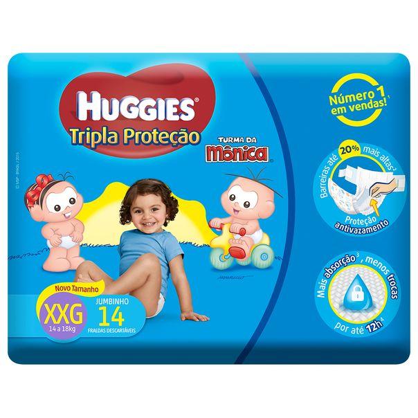 Fralda-Huggies-Turma-Da-Monica-Tripla-Protecao-Jumbinho-XXG-com-14-Unidades