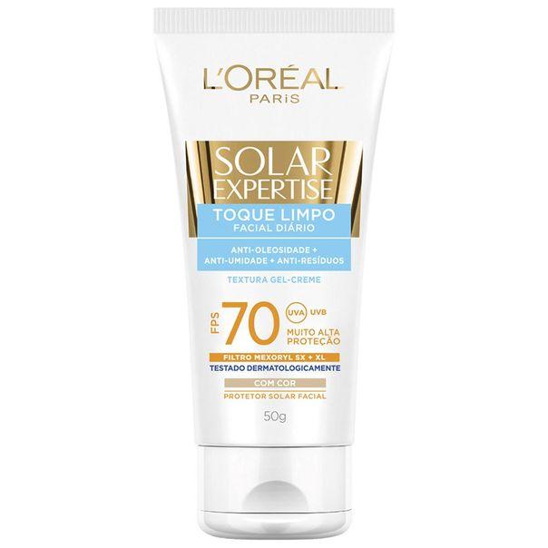 Protetor-Solar-Facial-Loreal-Toque-Limpo--FPS70-50ml