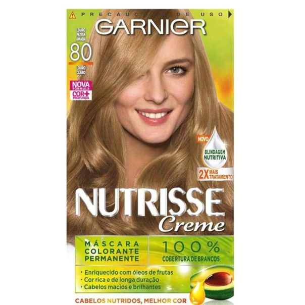 Tintura-permanente-nutrisse-mascara-nutritiva-kit-80-louro-patria-amada-Garnier