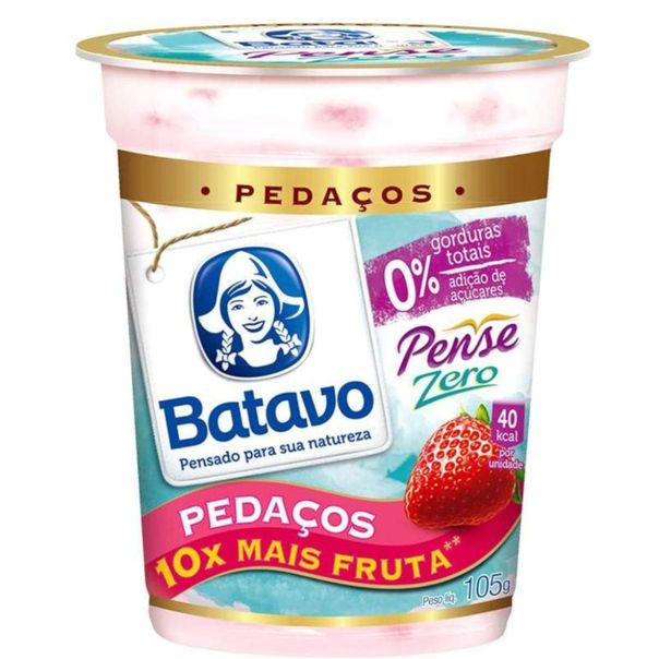 Iogurte-pense-zero-com-pedacos-de-morango-Batavo-100g