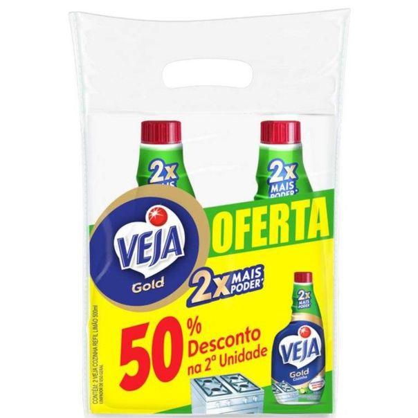Limpa-cozinha-gold-refil-com-50--de-desconto-na-2°-unidades-Veja