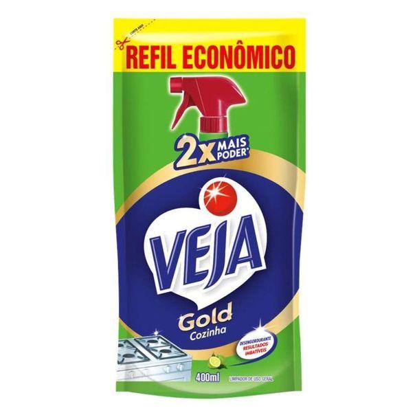 Limpeza-de-cozinha-gold-desengordura-refil-Veja-400ml