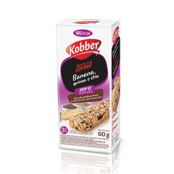 Barra-de-cereal-light-sabor-banana-quinoa-e-chia-Kobber-60g