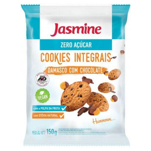 Biscoito-cookies-zero-acucar-de-damasco-com-chocolate-Jasmine-150g-