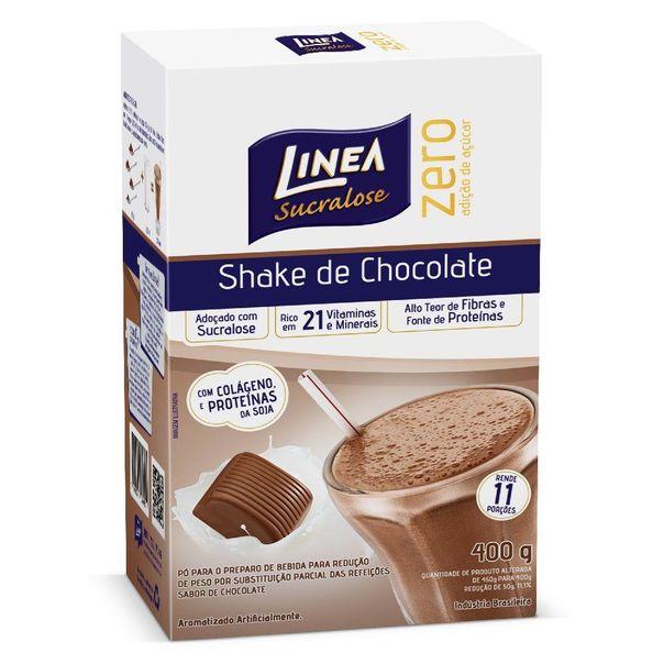 Shake-sabor-chocolate-zero-acucar-Linea-400g