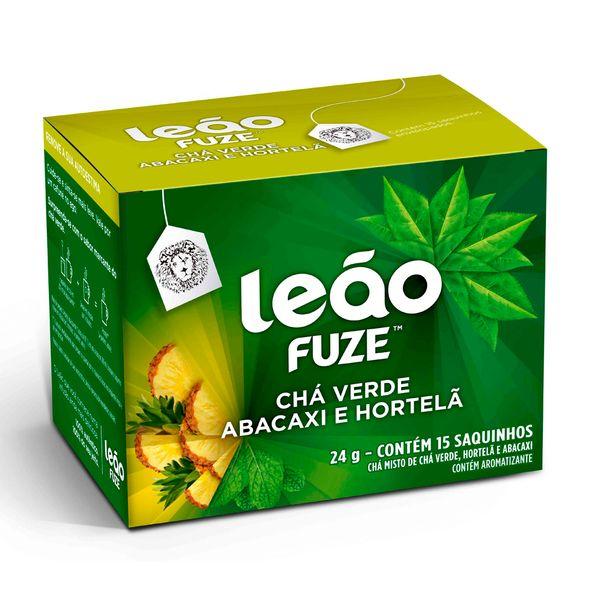 7891098038791_Cha-verde-abacaxi-com-hortela-Leao-Fuze-24g.jpg