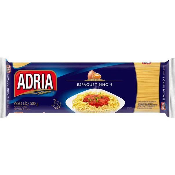 7896205788033_Macarrao-com-ovos-espaguetinho-Adria---500g