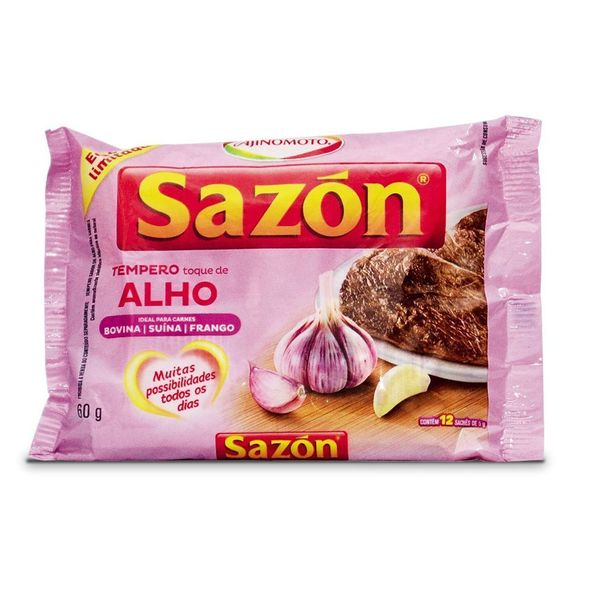 7891132008698_Tempero-toque-de-alho-Sazon---60g