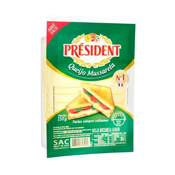 Quejo-Mussusarela-Fatiada-President-150g