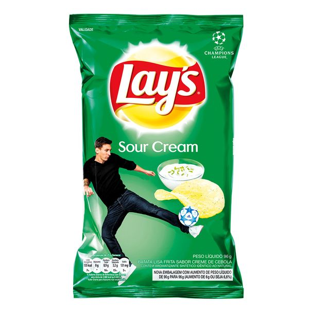 Batata-Sour-Cream-Lays-96g