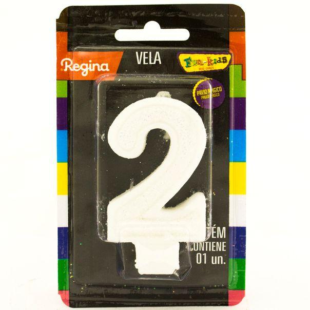 7891175018630_Vela-de-Aniversario-Super-Com-glitter-Branca--nº-2-Regina