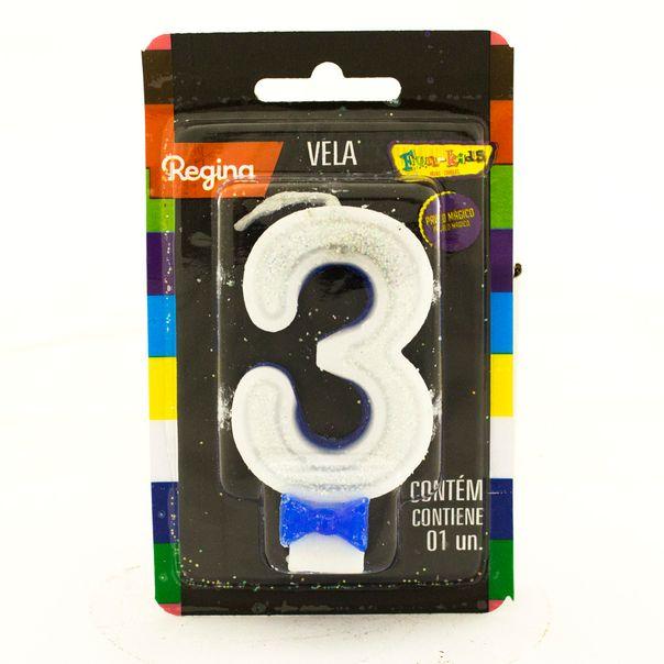 7891175018685_Vela-de-Aniversario-Super-Com-glitter-Azul-nº-3-Regina