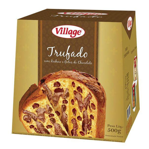 7896050427019_Panetone-Village-Trufado-com-Chocolate-500g