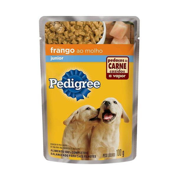 alimento-para-caes-pedigree-junior-de-frango-sache-100g