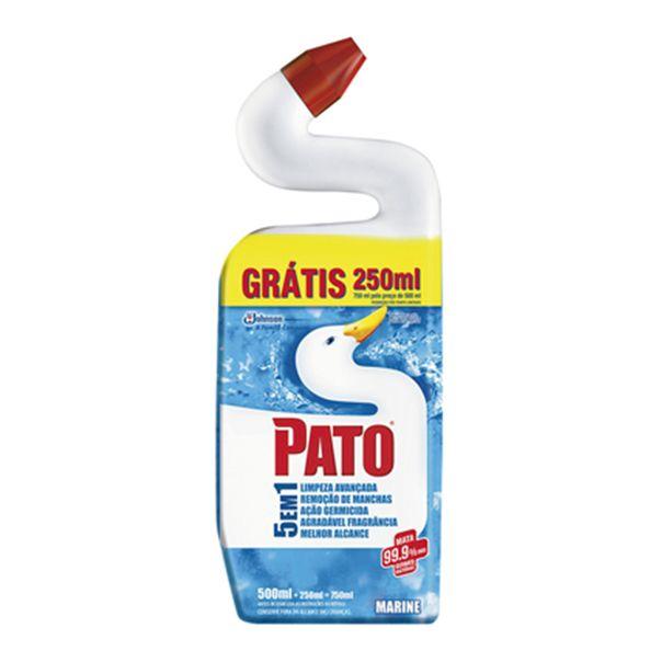 Limpador-de-Banheiro-Pato-Germinex-Marine-Leve-750ml-Pague-500ml