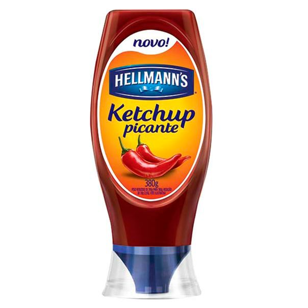 Ketchup-Picante-Hellmanns-Squeeze-380g