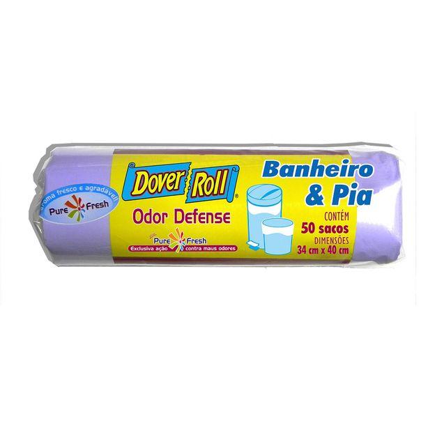 Saco-para-Lixo-Banheiro-e-Pia-Odor-Defense-Dover-10-Litros-com-10-Unidades