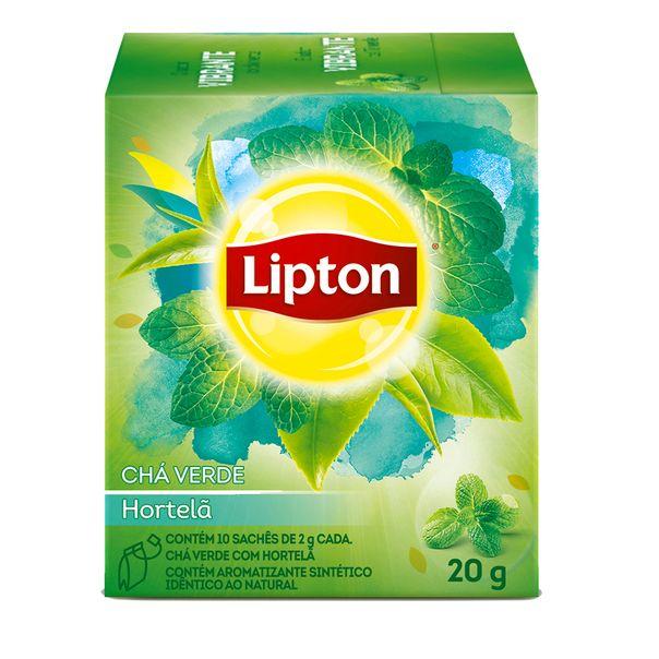 Cha-Verde-Hortela-Lipton-20g