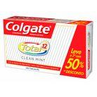 2-Cremes-Dentais-Colgate-Total-12-Clean-Mint-90g-com-50--desconto