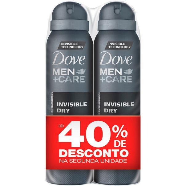 2-Desodorantes-Aerosol-Dove-Invisible-Dry-89g-50--Desconto